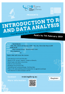 Internal Training: Introduction to R and Data Analysis 2019 | crg