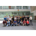 Group picture of the Roderic Guigó's lab at the Centre for Genomic Regulation (CRG).
